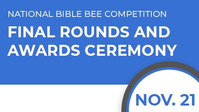 National Bible Bee Competition Finals at the Ark Encounter