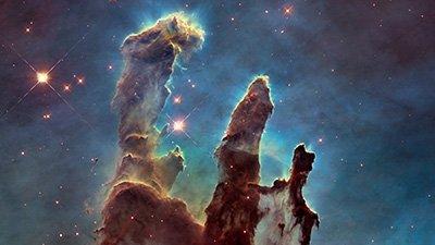 """Newborn Stars"" Form in the Pillars of Creation?"