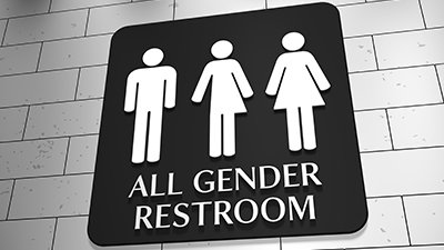 Preferred Pronoun Stickers, All Gender Restrooms, and More