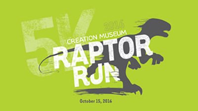 Raptor Run at the Creation Museum