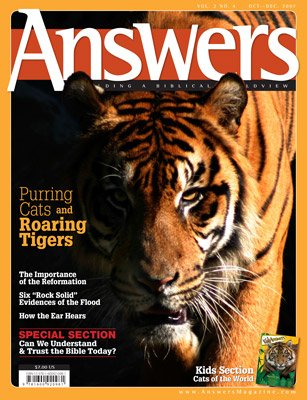 Purring Cats and Roaring Tigers | Answers in Genesis