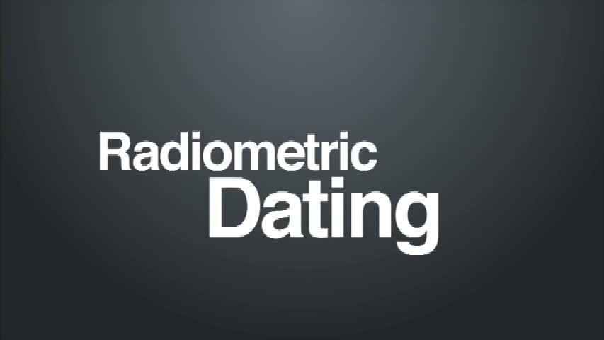 Check This Out: Radiometric Dating