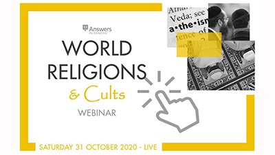 Don't Miss World Religions and Cults Virtual Conference, October 31, 2020