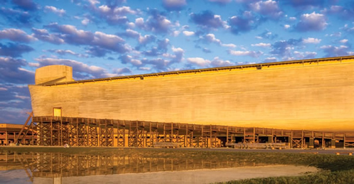 New Timeline Of History Exhibit Installed At The Ark Encounter Answers In Genesis