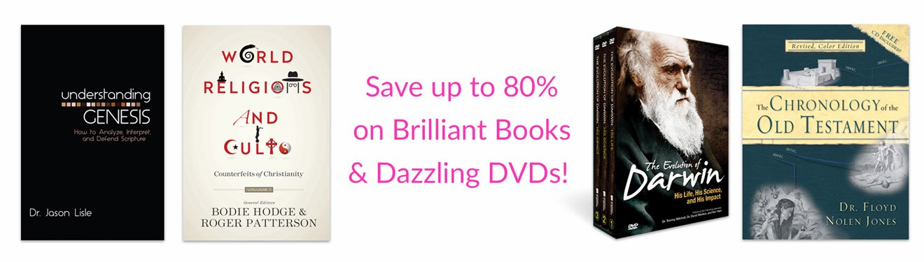Save up to 80% on Books and DVDs!