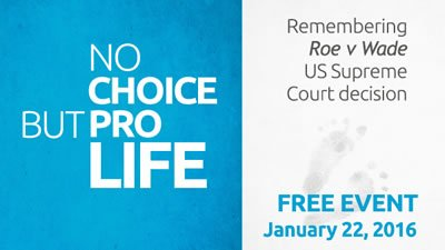 No Choice but Pro-Life