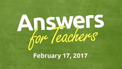 Answers for Teachers Conference