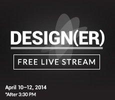 Design(er) Free Live Stream