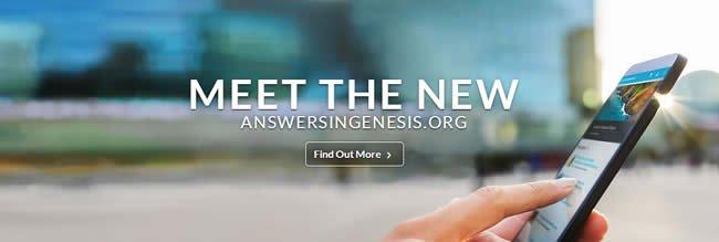 Meet the New answersingenesis.org