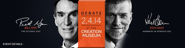 Bill Nye vs. Ken Ham Debate