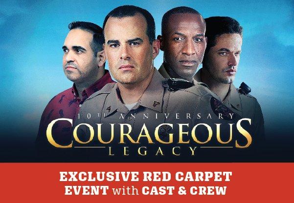 Courageous Cast Reception