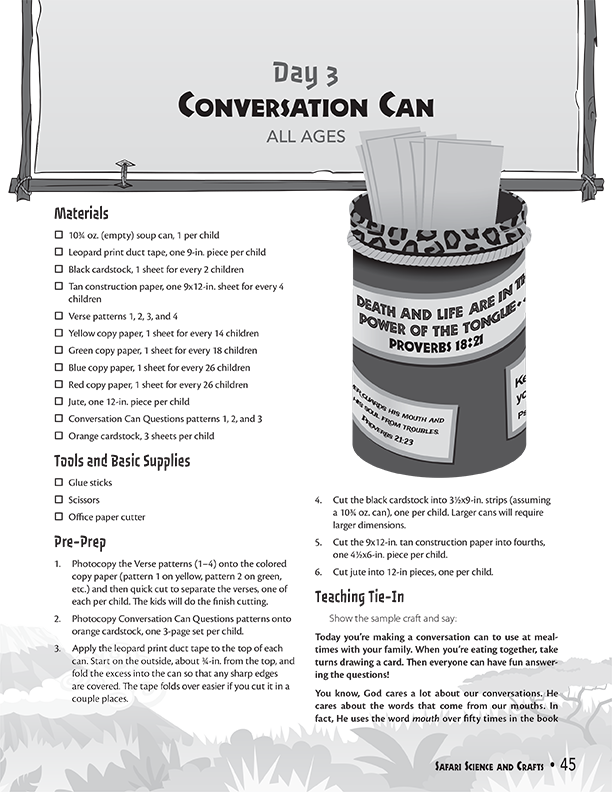Conversation Can