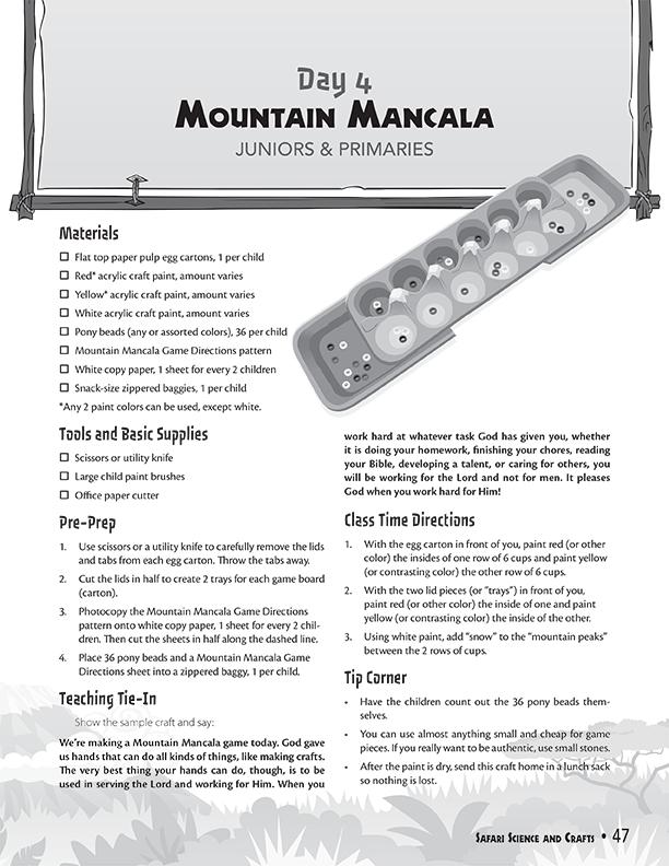 Mountain Mancala
