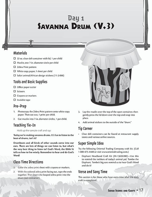 Savanna Drum