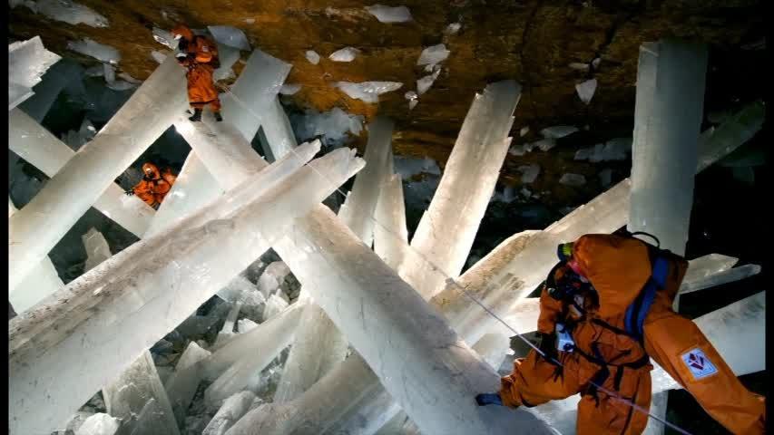 Naica Crystals