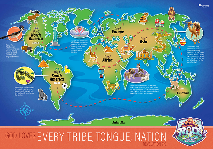God Loves Every Tribe, Tongue and Nation