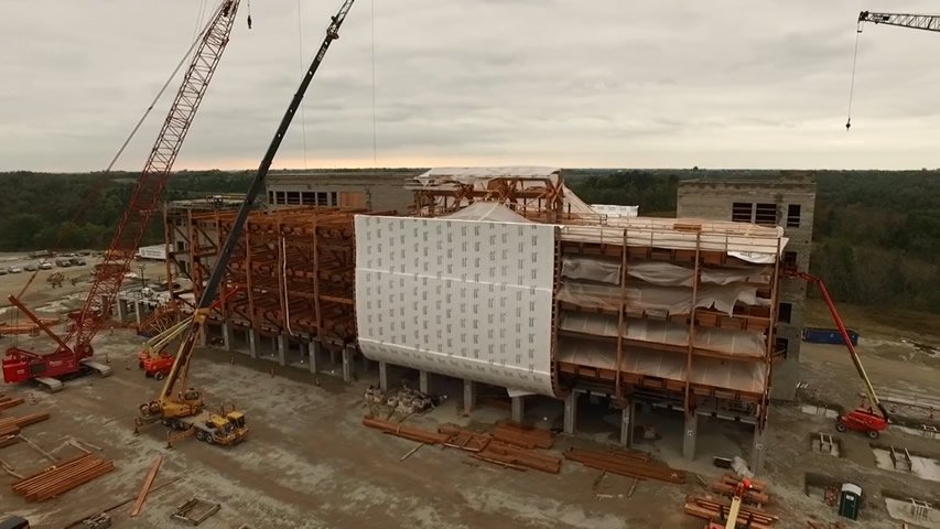 Ark Encounter Construction Update 2015-10-01