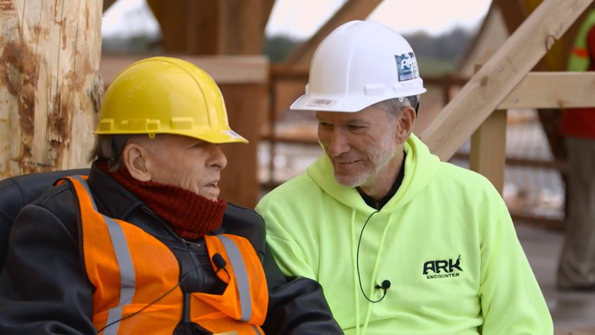 Ken Ham Interviews Dr. John Whitcomb at Ark Encounter Site