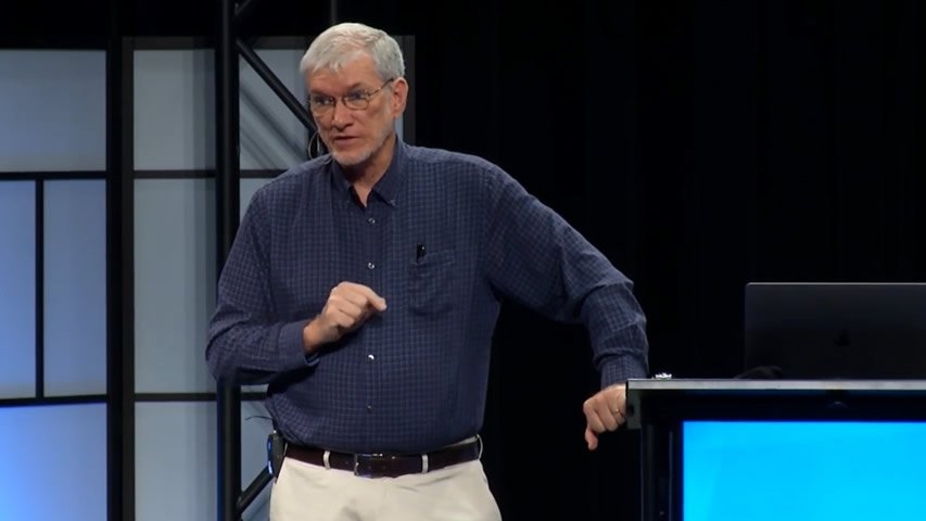 Ken Ham at AiG Staff Meeting 2017-04-13