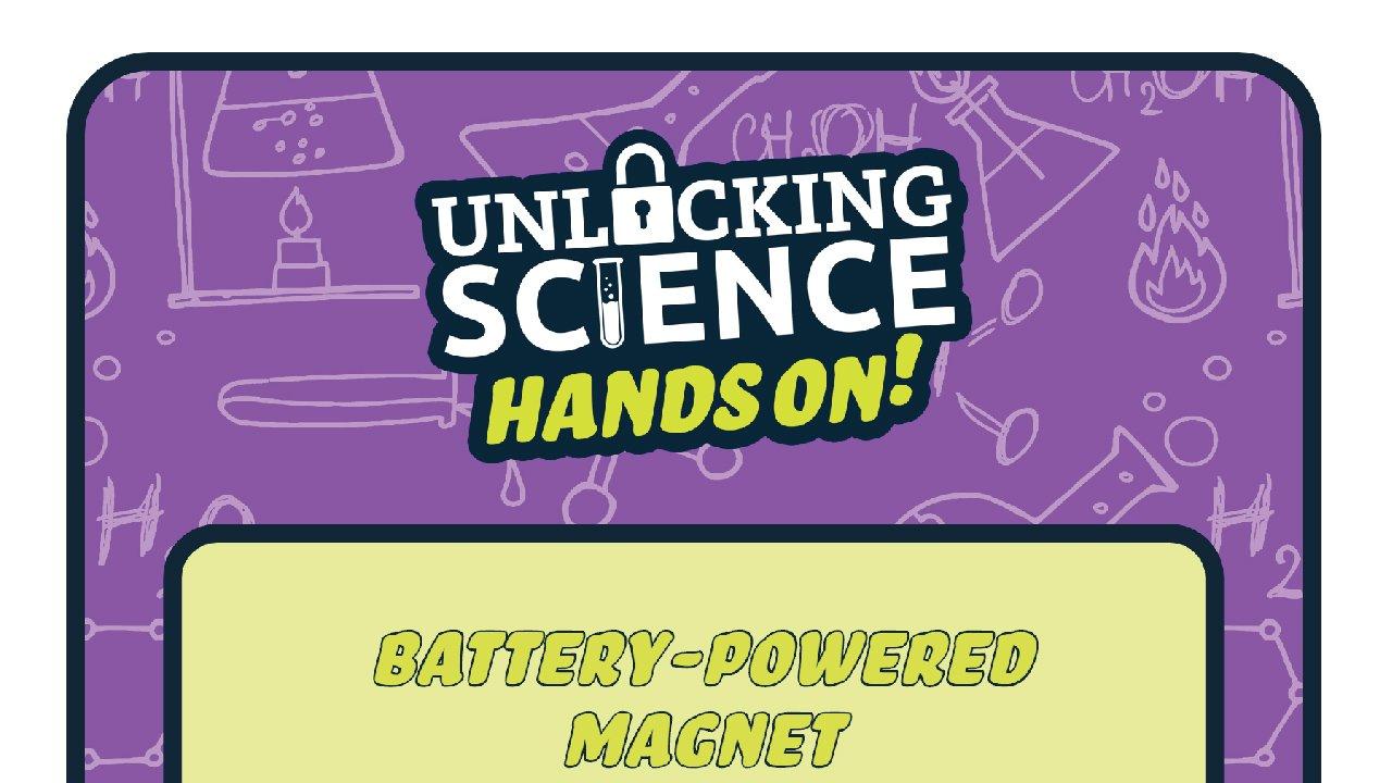 Hand On: Battery Magnet