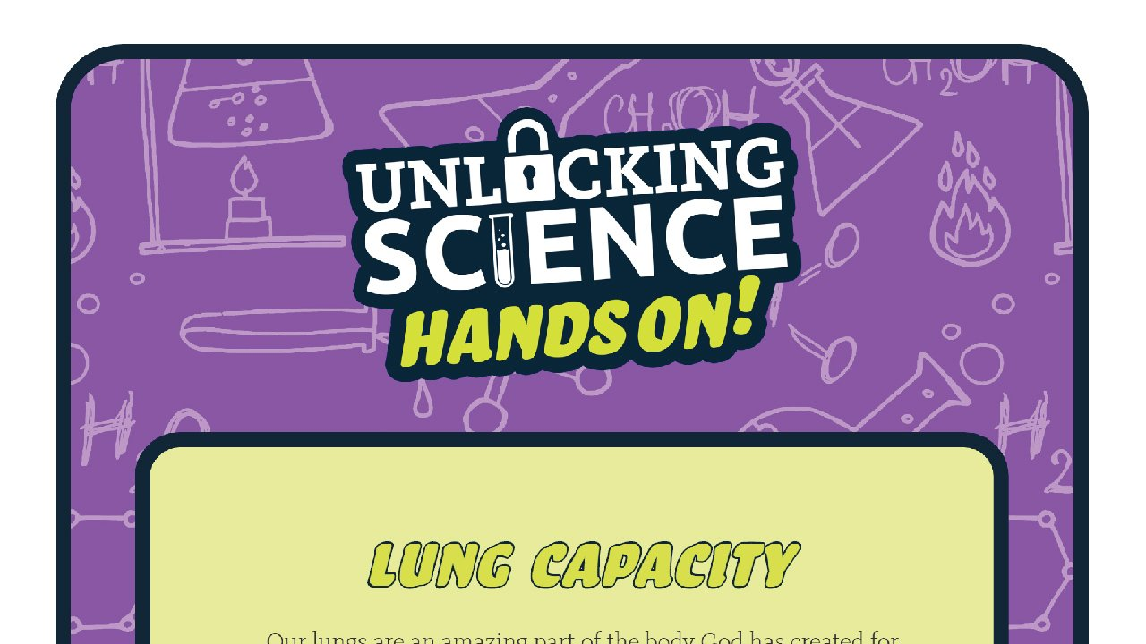 Hands On - Lung Capacity