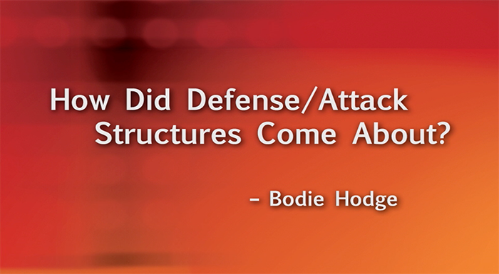 How Did Defense/Attack Structures Come About?
