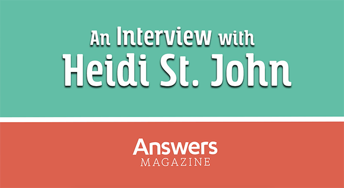 An Interview with Heidi St. John