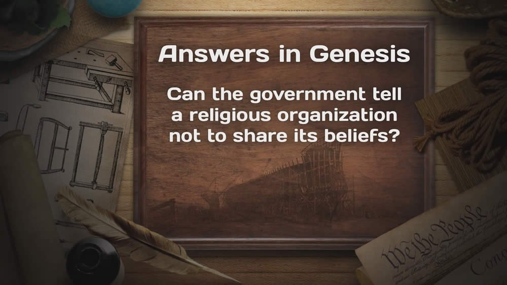 Can the government tell a religious organization ... ?