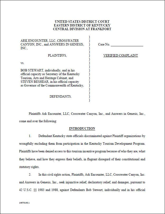 lawsuit document