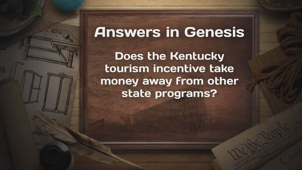 Does the Kentucky tourism incentive take money ... ?