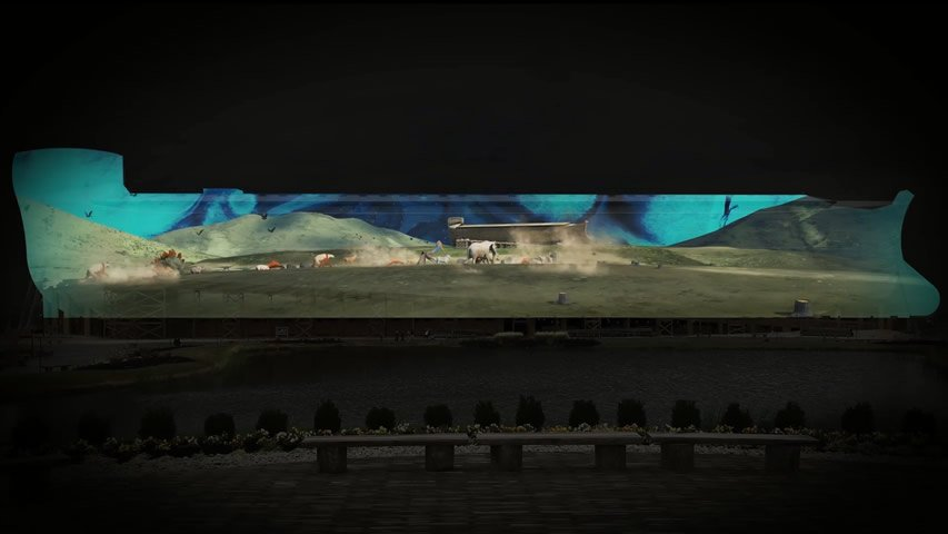 Ark Encounter Animated Program 2017: Animals Coming to the Ark