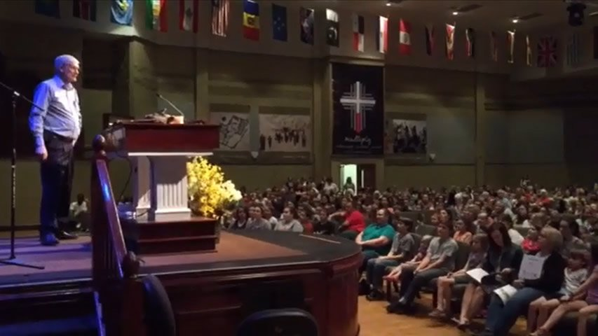 Ken Ham Teaching at Colonial Baptist Church, March 2016
