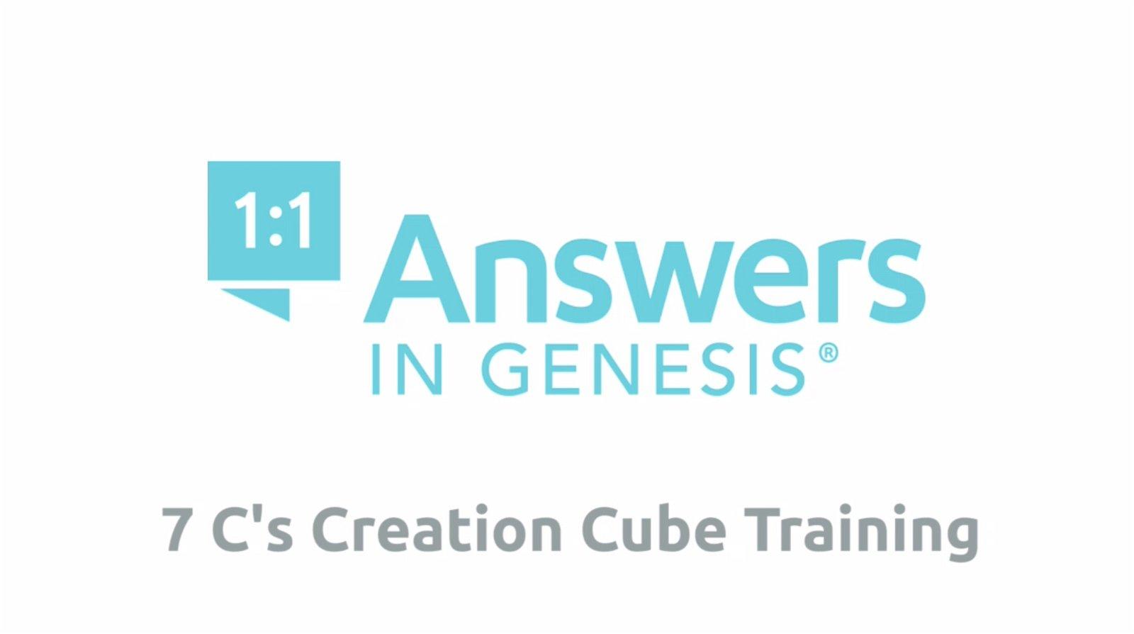 Seven C's Creation Cube Training