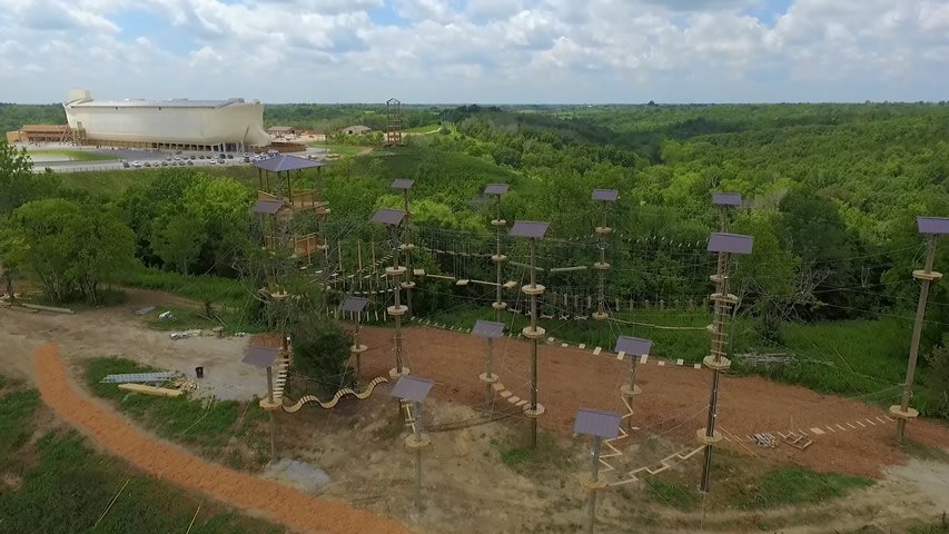 Ark Encounter Drone Footage 2016-08-03