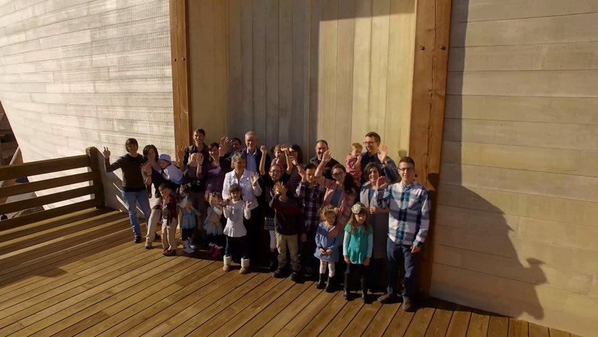 Ken Ham Family Photo 2016