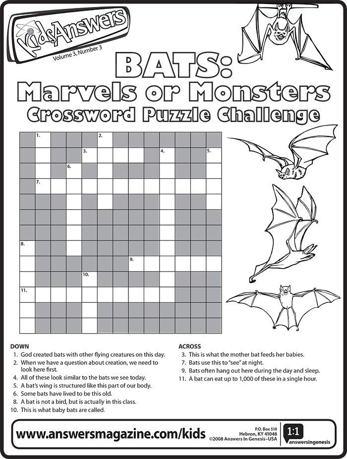 Bat Crossword
