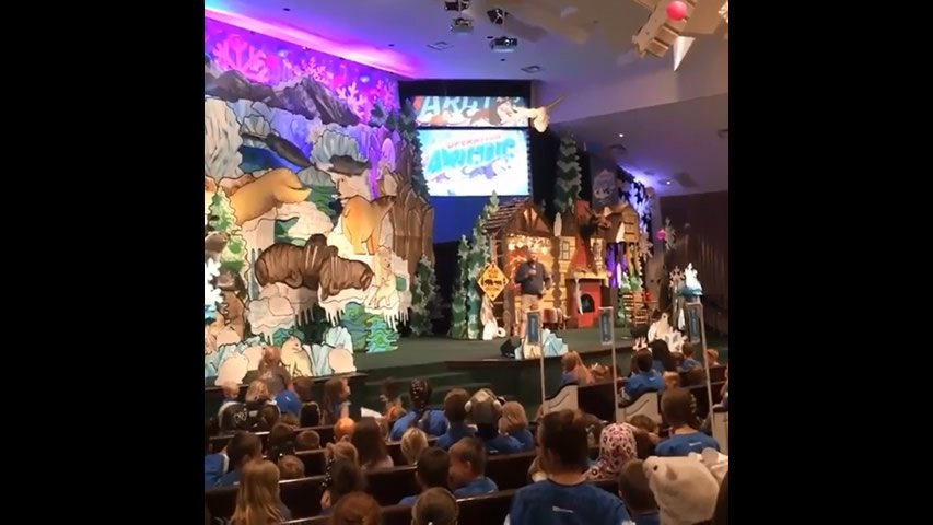 Ken Ham Visits Operation Arctic VBS 1