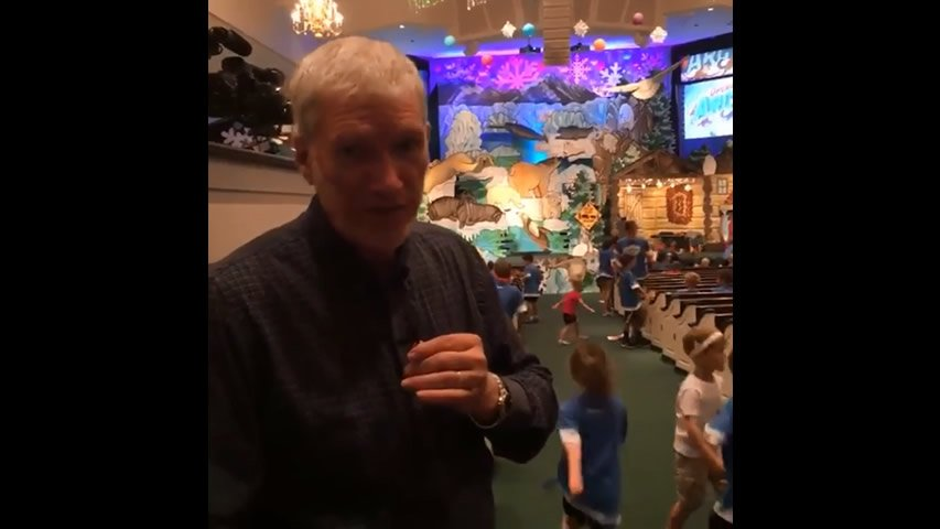 Ken Ham Visits Operation Arctic VBS 2