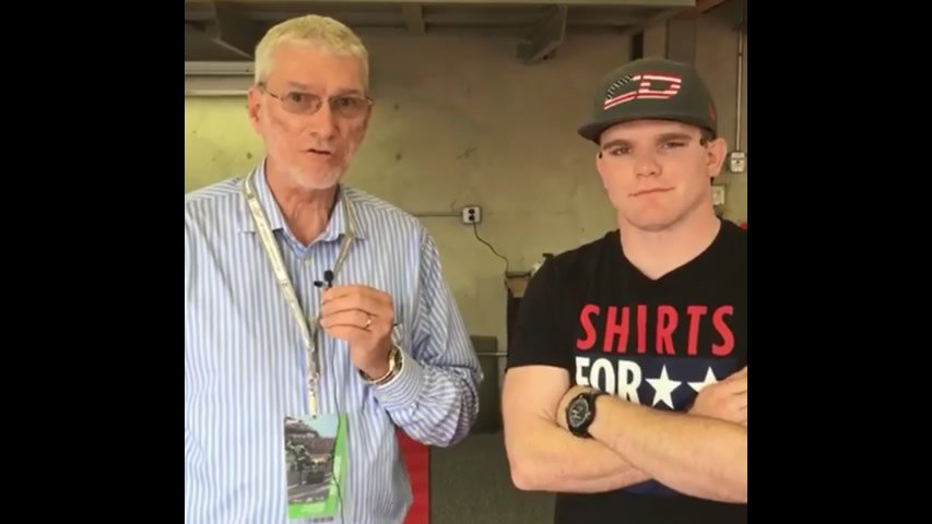 Ken Ham with Conor Daly