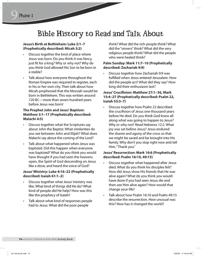 Bible History 2