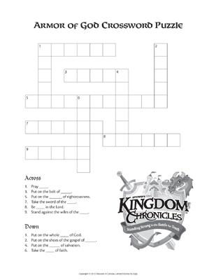 Armor Crossword