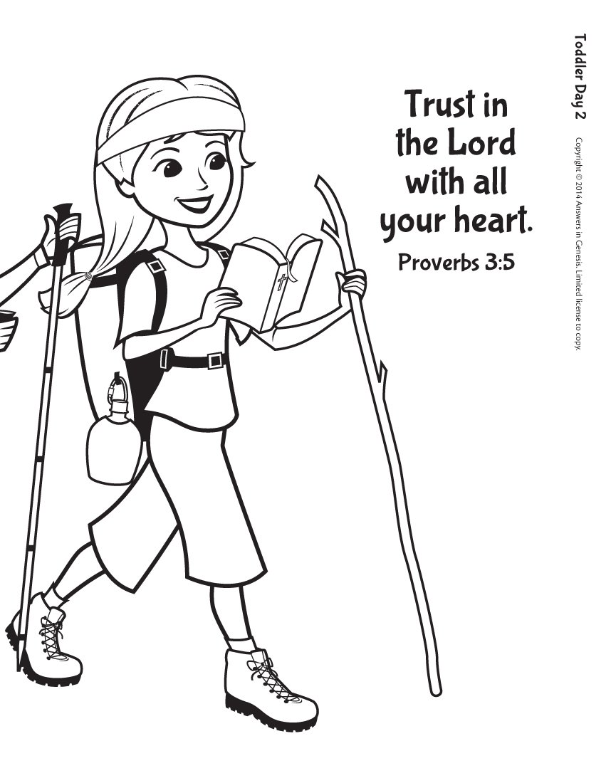Trust in the Lord: Toddlers