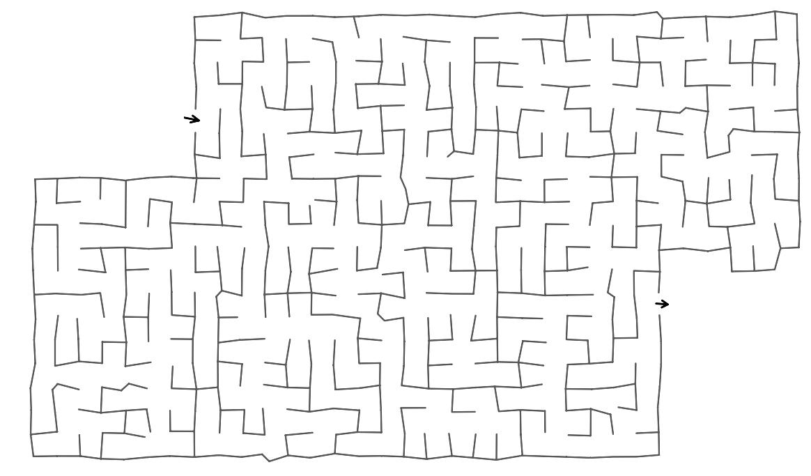 Hummingbird maze