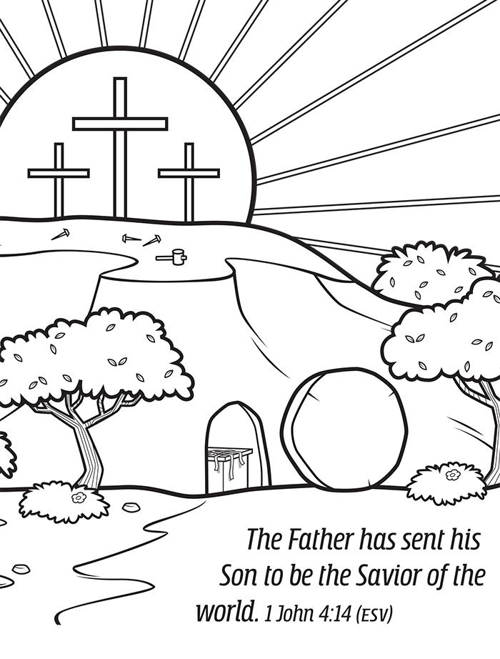 1 John 4:14 Savior of the World