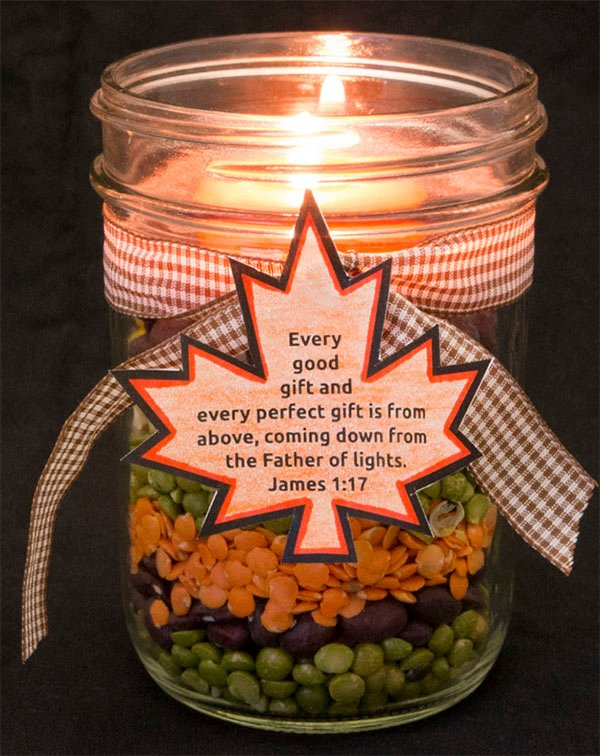 Father of Lights Candle