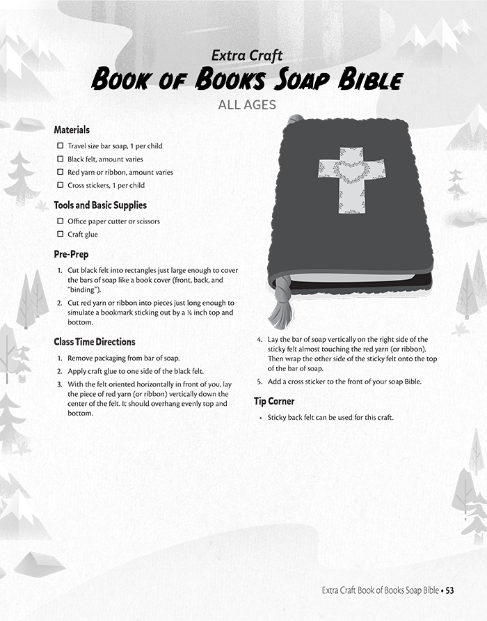Book of Books Soap Bible