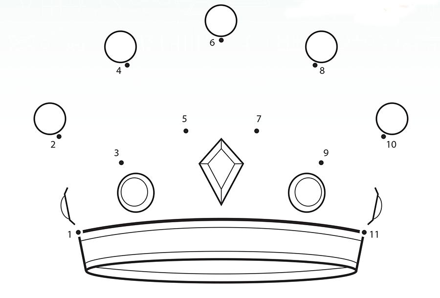 King of Kings Dot to Dot