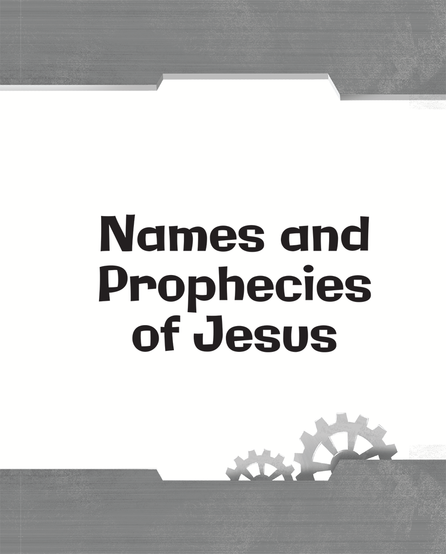 Names and Prophecies of Jesus