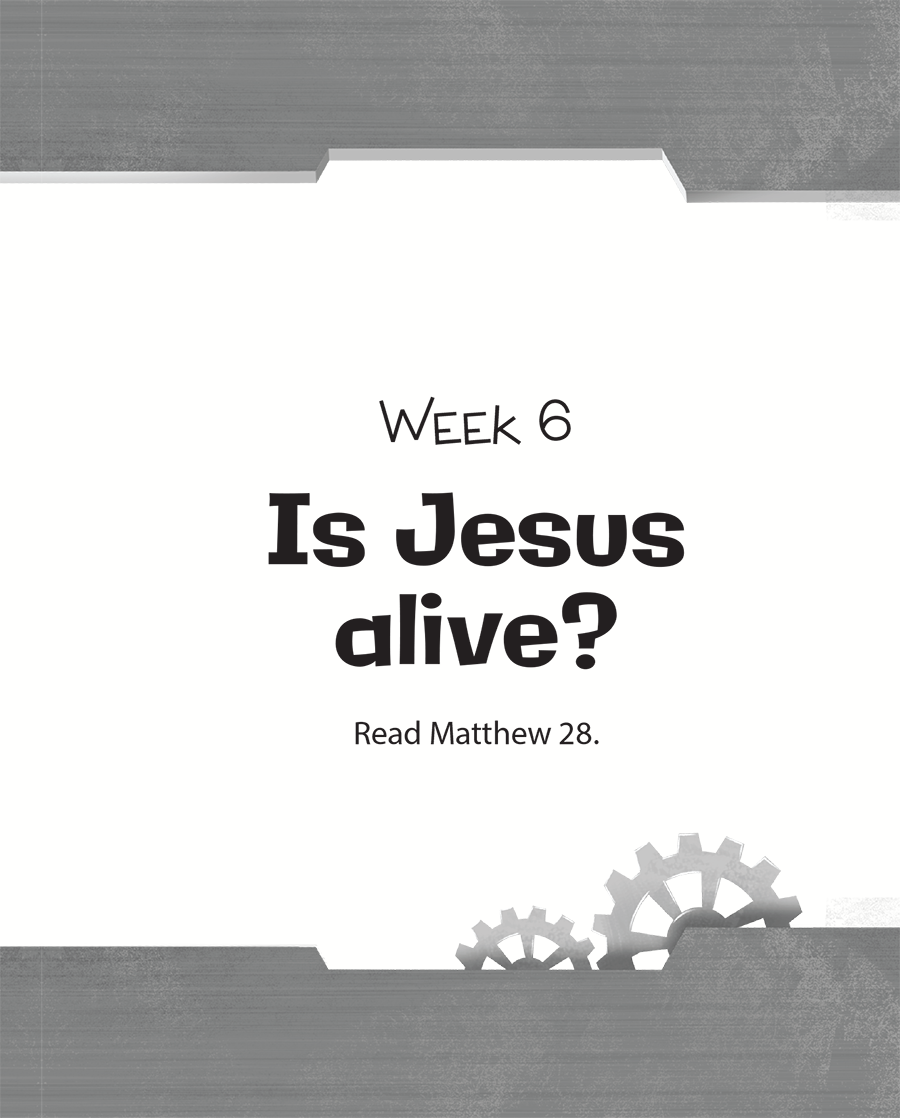 Week Six: Is Jesus Alive?