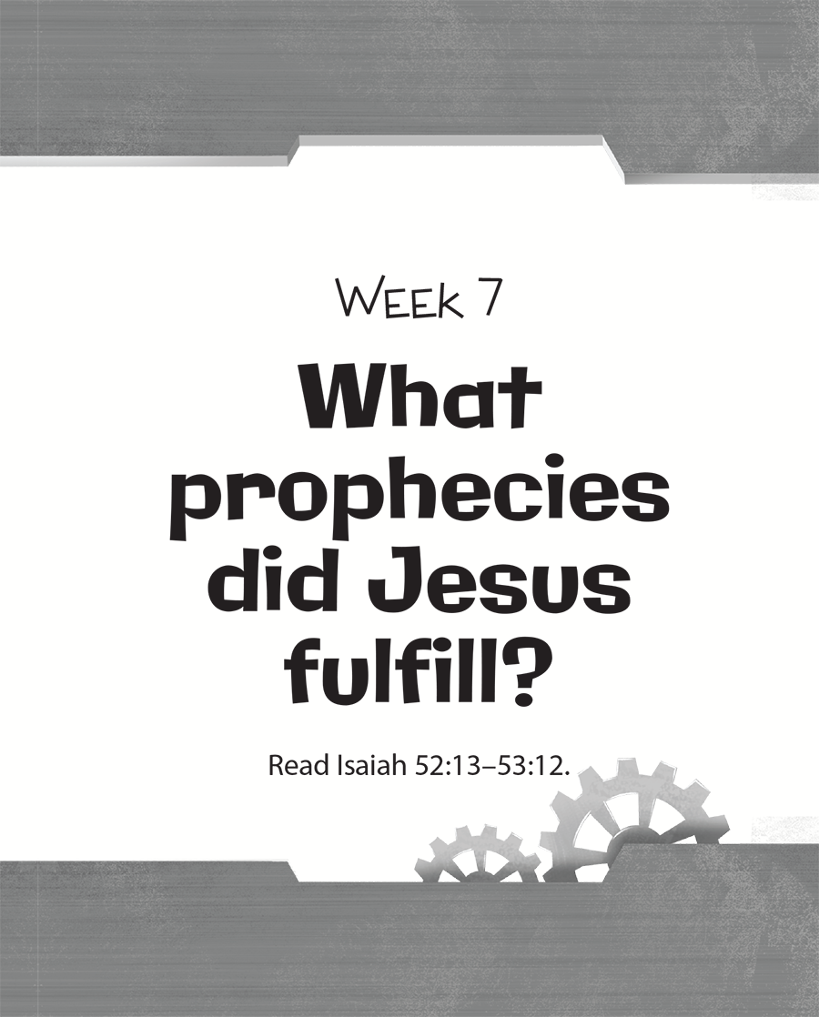 Week Seven: What Prophecies Did Jesus Fulfill?